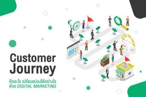 Customer Journey คืออะไร เปลี่ยนแปลงได้อย่างไรด้วย Digital Marketing