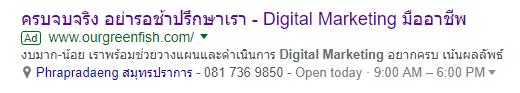 Ads Extensions คืออะไร