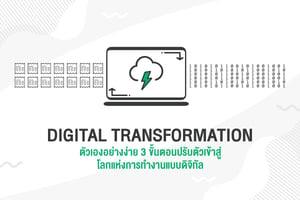 Digital Transformation ตัวเองอย่างง่าย 3 ขั้นตอนปรับตัวเข้าสู่โลกแห่งการทำงานแบบดิจิทัล