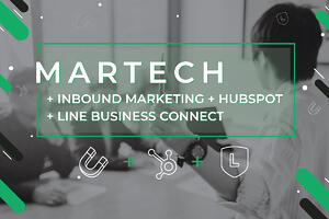 งานสัมมนา MARTECH +INBOUND MARKETING+HUBSPOT+LINE BUSINESS CONNECT