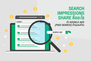 Search Impressions Share คืออะไร ใครทำ Google Ads (Paid Search) ห้ามมองข้าม