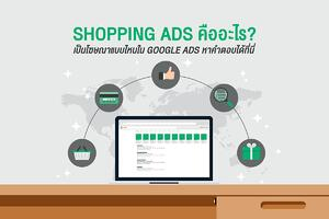 Shopping Ads คืออะไร เป็นโฆษณาแบบไหนใน Google Ads หาคำตอบได้ที่นี่