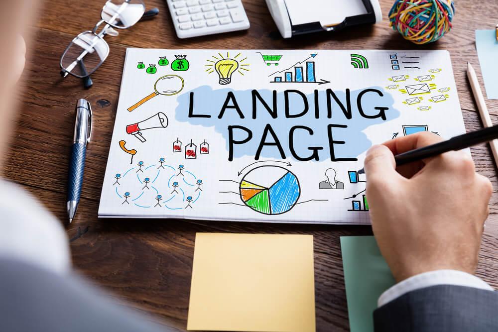 สร้าง Landing Page