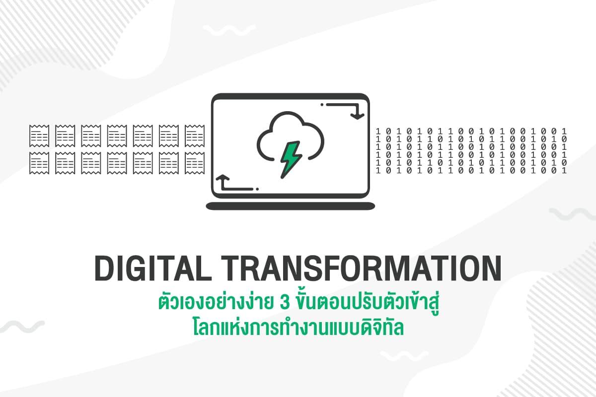 digital-transformation-ตัวเองอย่างง่าย